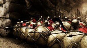 difesa spartana alle termopili