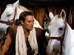 ben-hur e i suoi cavalli