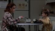 madre e figlio colazione