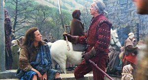 ramirez mostra la spada a connor