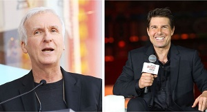 james cameron e tom cruise