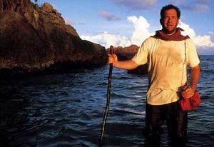 tom hanks sull'isola