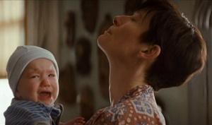 eva e il figlio che piange