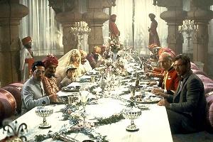 cena al palazzo di pankot