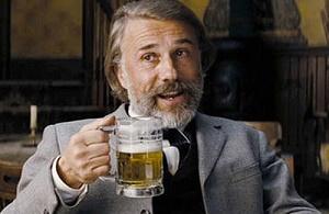 dr. king schultz e la birra