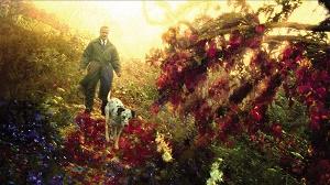 robin williams e cane