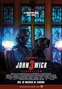 john wick 3 parabellum locandina