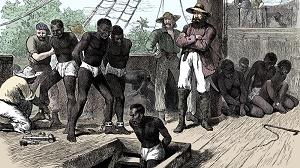 vignetta tratta degli schiavi neri