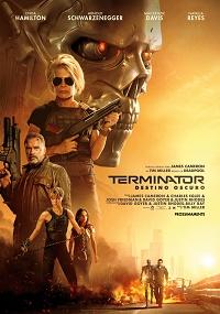 terminator - destino oscuro poster ufficiale