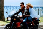 tom cruise e kelly mcgillis top gun
