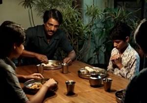 cena di famiglia vita di pi
