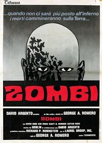 zombi - l'alba dei morti viventi poster