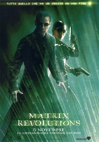 matrix revolutions locandina