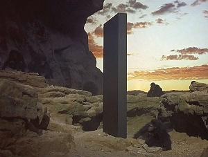 monolite 2001: odissea nello spazio alba dell'uomo
