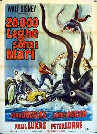 20.000 leghe sotto i mari locandina