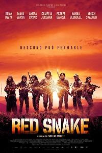 red snake locandina