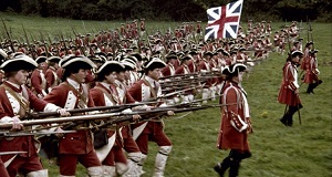 soldati inglesi Settecento