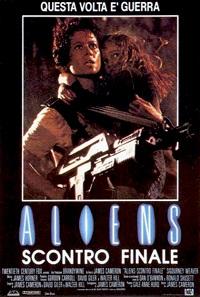 aliens - scontro finale locandina