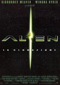 alien la clonazione locandina