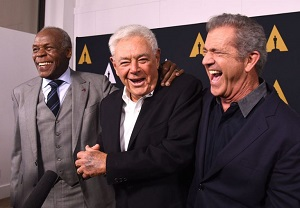 danny glover, richard donner, mel gibson