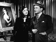 joan bennett e edward g. robinson in La donna del ritratto