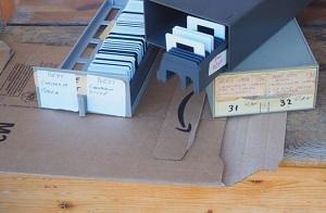 contenitori diapositive