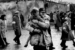 steven spielberg nel making of di Schindler's List