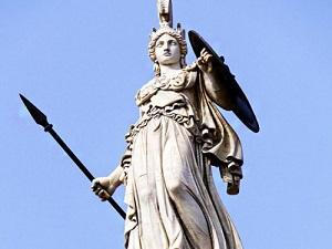 la dea minerva statua