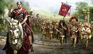 caio giulio cesare e le legioni romane