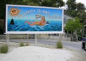 isola di amity cartellone