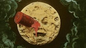 viaggio nella luna a colori