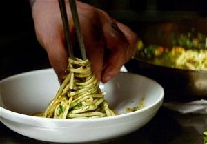 spaghetti impiattati
