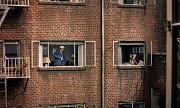 la finestra sul cortile veduta condominio