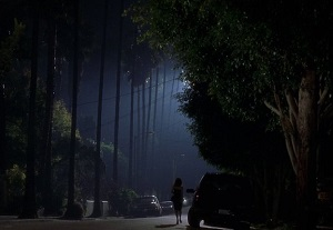 notte a los angeles mulholland drive
