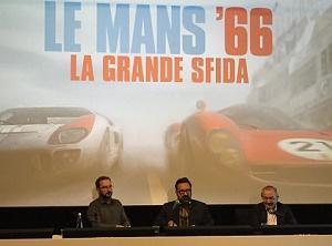 conferenza stampa le mans '66 roma